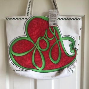 Brighton Love & Joy Tote New with Tags Holiday